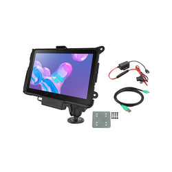 RAM® Powered Mount for Samsung Tab Active Pro with Backing Plate (RAM-101-B-SAM52P-V7BU)-Image-1