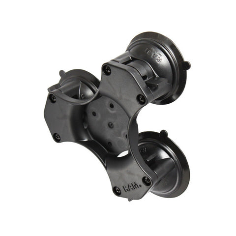 RAM Triple Suction Cup Mount (RAP-365-224-1BU) - Image1