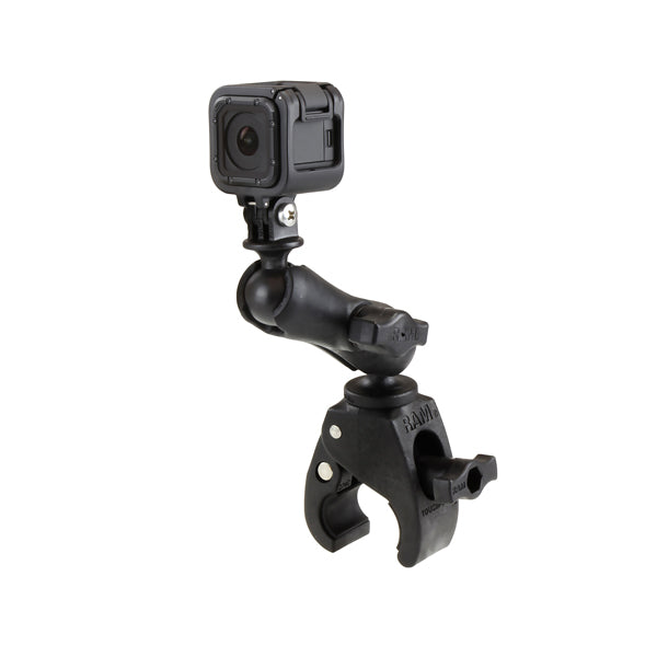 RAM Small Tough-Claw with Universal Action Camera Adapter (RAP-B-400-GOP1U) - RAM Mounts - Mounts New Zealand