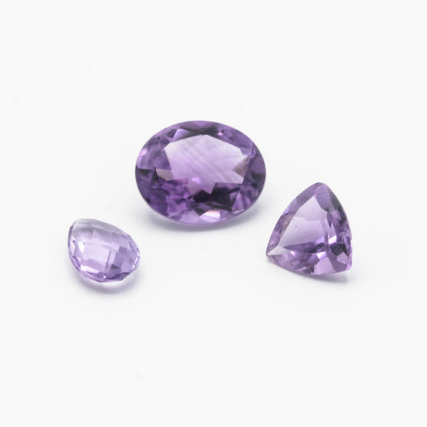 Natural Amethyst, Amethyst, jewelry, ring, necklace, bracelet, pendant, Jewelry Making Supply, gemstone - Metal Studio Jewelry