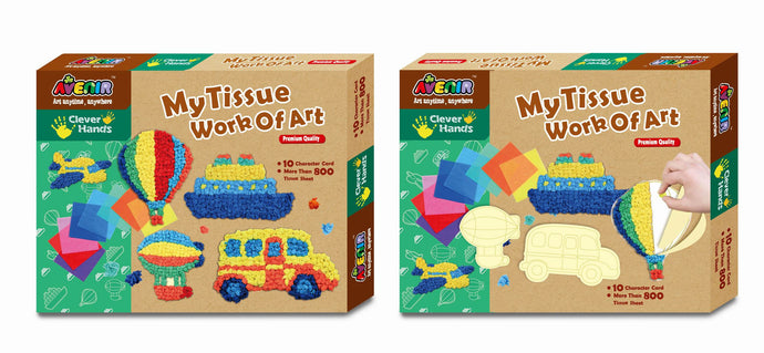 Art Tissue Creative Set