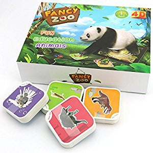 Fancy Zoo Flashcards AR Animal Game