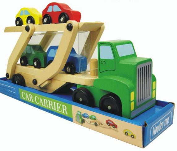 Wood Cars  Carrier Loader Model Truck