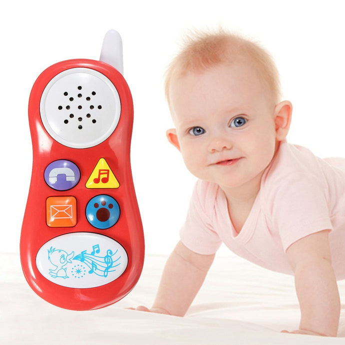 Baby Kids Learning Study Musical Sound Cell Phone