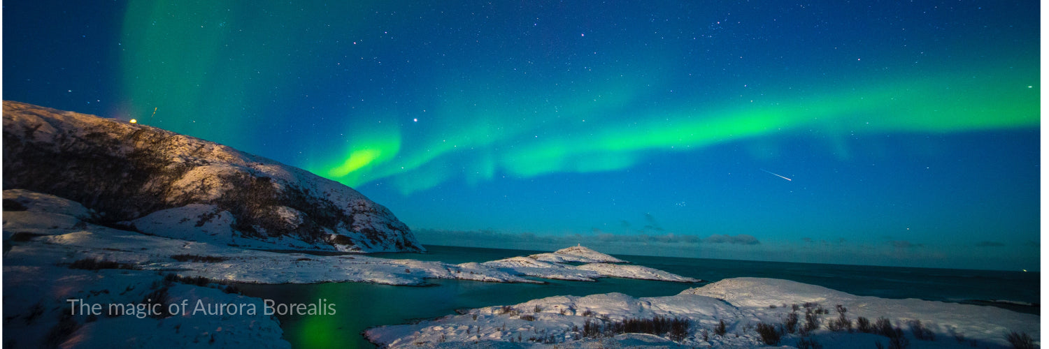 The magic of Aurora Borealis