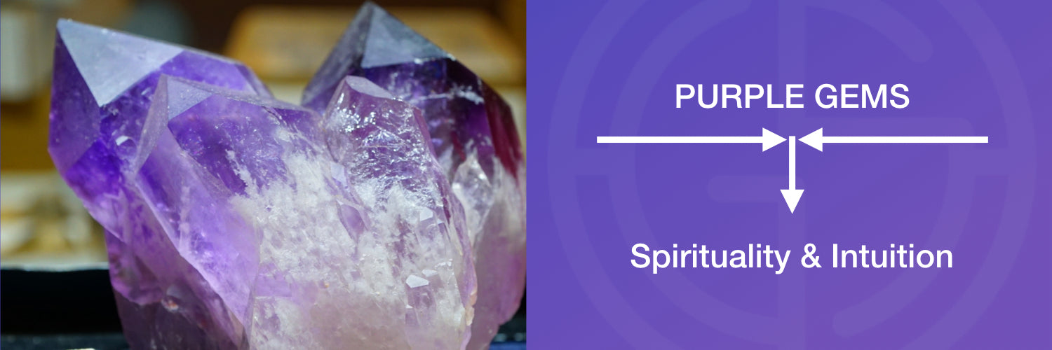 Purple gemstones meaning