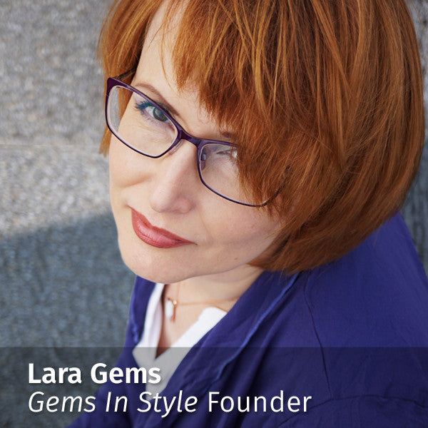 Lara Gems, Founder of GEMS IN STYLE - Australian Gemstone Jewellery Brand