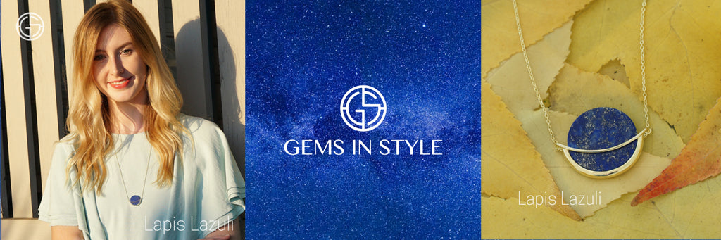 Lapis Lazuli jewellery by Gems In Style