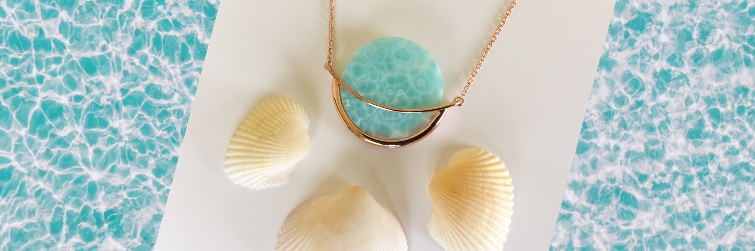Larimar Necklace by Gems In Style Jewellery