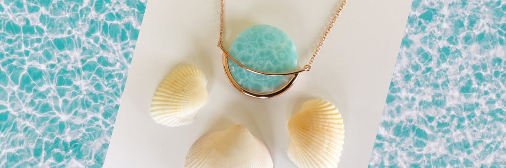 Larimar jewellery by Gems in Style