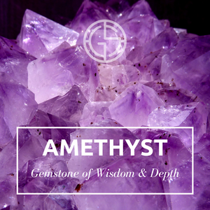 GEMS IN STYLE, Amethyst gemstone. Modern Minimalist Gemstone Jewellery.