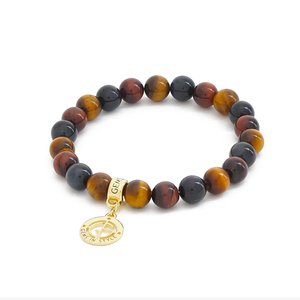 Crystal Code ⋅ Tiger Eye ⋅ Bracelet⋅ Charm