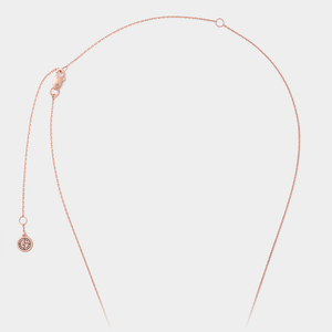 Necklace chain by GEMS IN STYLE. Modern Minimalist Geometric Gemstone jewellery