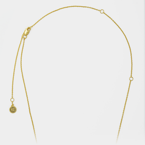 Necklace chain by GEMS IN STYLE. Modern Minimalist Gemstone jewellery.