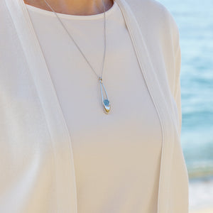 Levity ⋅ Swiss Blue Topaz ⋅ Necklace