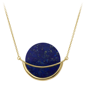 Dancing Orbit ⋅ Lapis Lazuli ⋅ Necklace