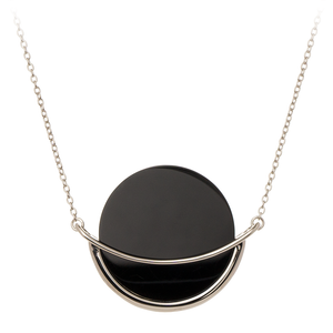 Dancing Orbit ⋅ Onyx ⋅ Necklace