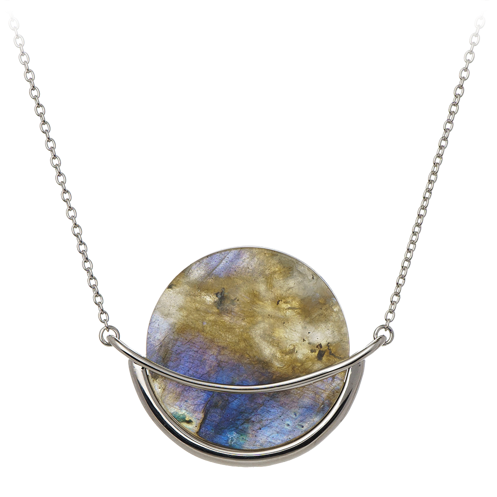 Dancing Orbit ⋅ Labradorite ⋅ Necklace