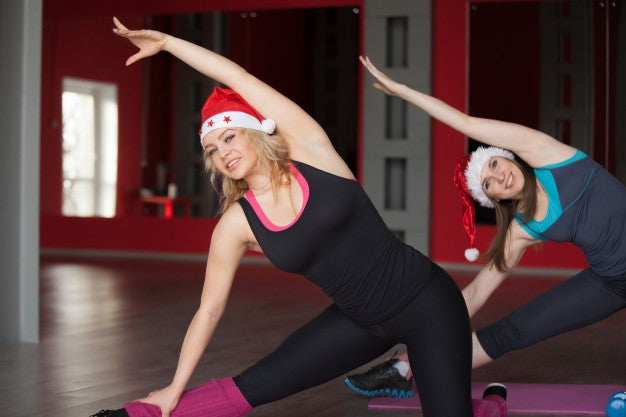 Easy Winter Holidays Workout for a Good Night Sleep