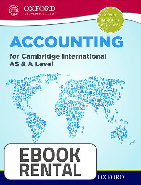 Accounting for Cambridge International AS and A Level