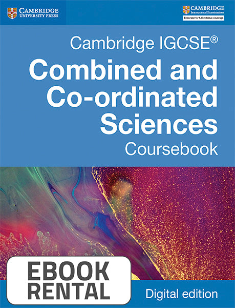 Cambridge IGCSE® Combined and Co-ordinated Sciences Coursebook