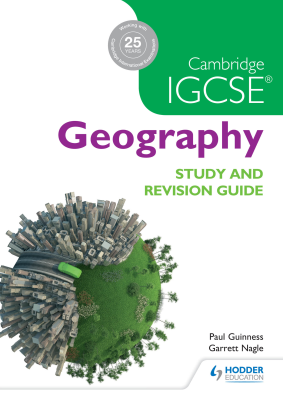 Geography. Study and Revision Guide for Cambridge IGCSE, 1st Ed. <br> <small><small>by Garrett Nagle, Paul Guiness</small></small>