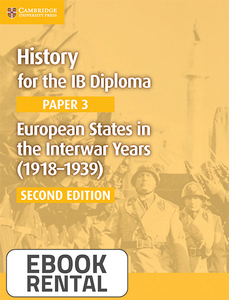 History for the IB Diploma Paper 3  European States in the Interwar Years (1918-1939)