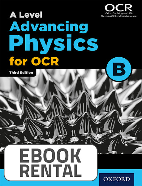 A Level Advancing Physics for OCR B. Year 2