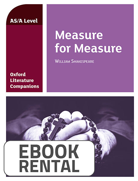 Oxford Literature Companions: Measure for Measure