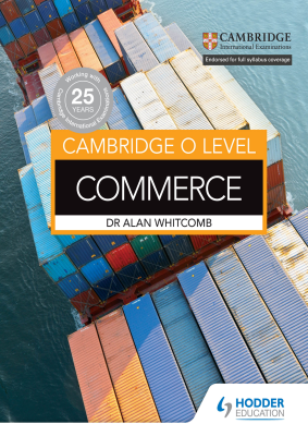 Commerce for Cambridge O Level, 1st Ed. <br> <small><small>by Alan Whitcomb</small></small>