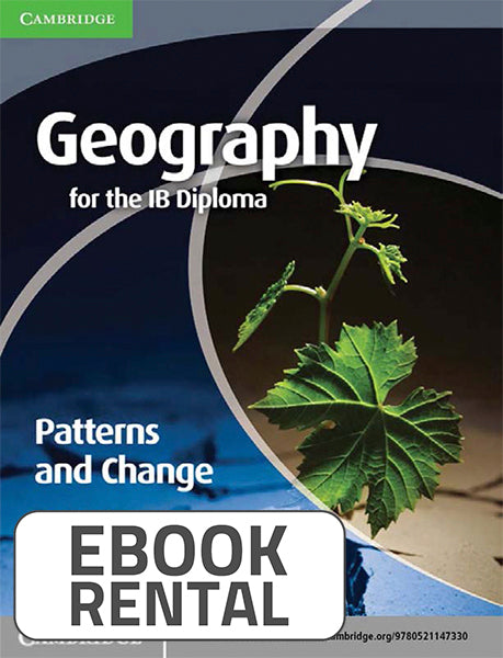 Geography for the IB Diploma Patterns and Change, 1st Ed. <br> <small><small>by Paul Guinness</small></small>