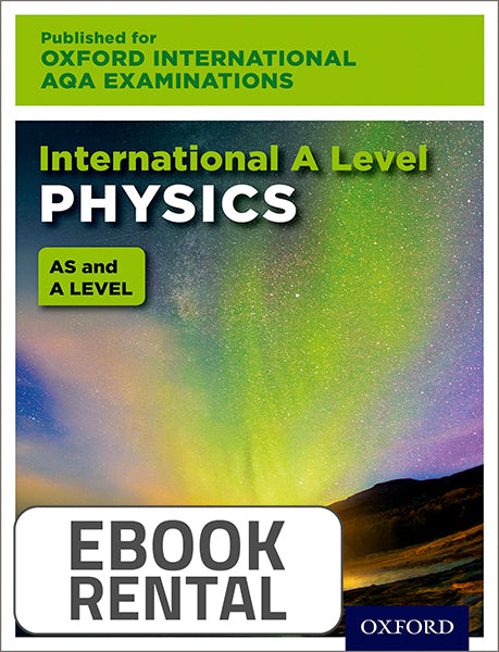 Oxford International AQA Examinations: International A Level Physics
