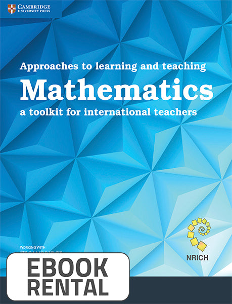 Approaches to learning and teaching Mathematics. A toolkit for international teachers