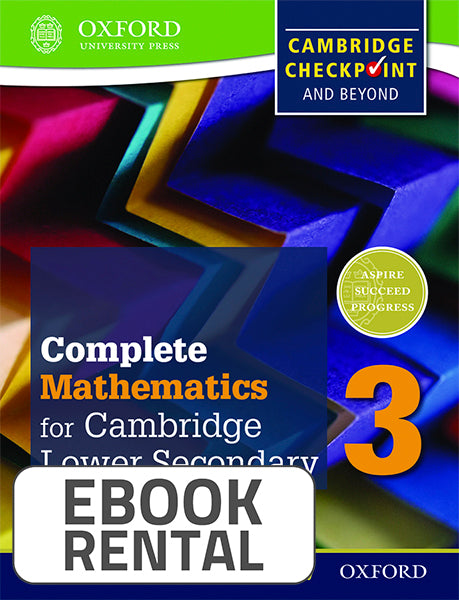 Complete Mathematics for Cambridge Lower Secondary 3