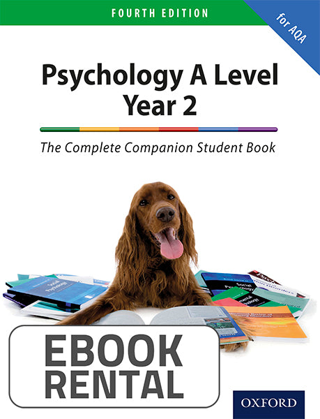 Psychology A Level Year 2. The Complete Companion for AQA