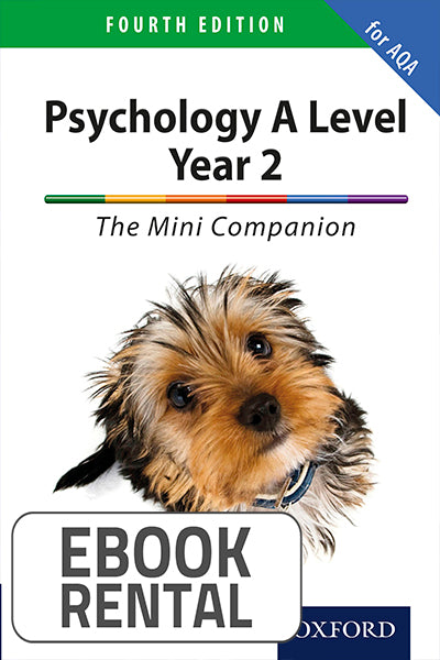 Psychology A Level Year 2: The Mini Companion