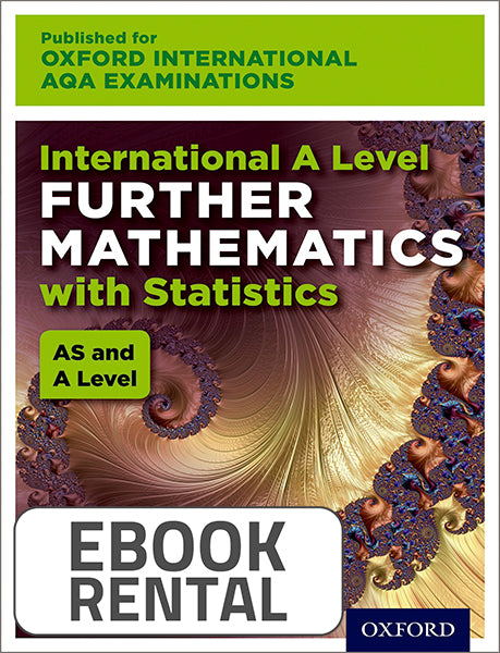 Oxford International AQA Examinations: International A Level Further Mathematics with Statistics