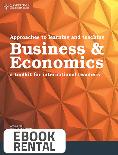 Approaches to learning and teaching Business & Economics. A toolkit for international teachers