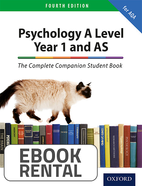 Psychology A Level Year 1 and AS Student Book. The Complete Companion for AQA