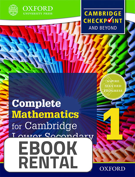 Complete Mathematics for Cambridge Lower Secondary 1