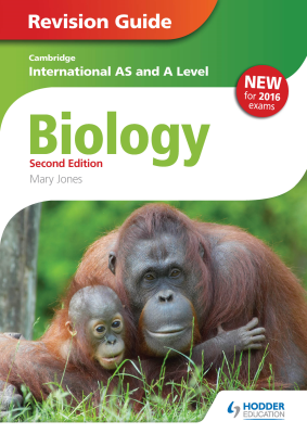 Biology Revision Guide for Cambridge International AS and A Level, 2nd Ed. <br> <small><small>by Mary Jones</small></small>