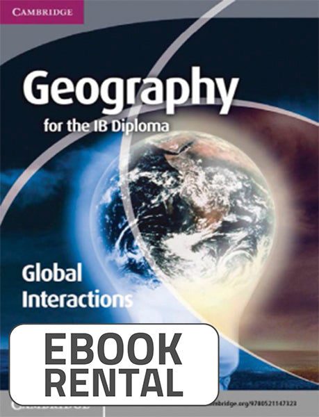 Global Interactions Geography for the IB Diploma, 1st Ed. <br> <small><small>by Paul Guinness</small></small>