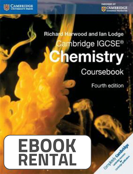 Chemistry Coursebook for Cambridge IGCSE, 4th Ed. <br> <small><small>by Richard Harwood, Ian Lodge</small></small>