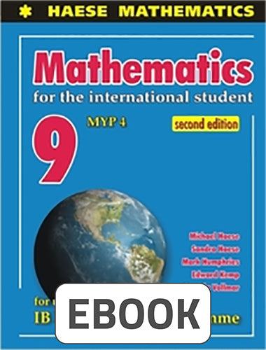 Mathematics for the International Student 9 MYP 4 Digital