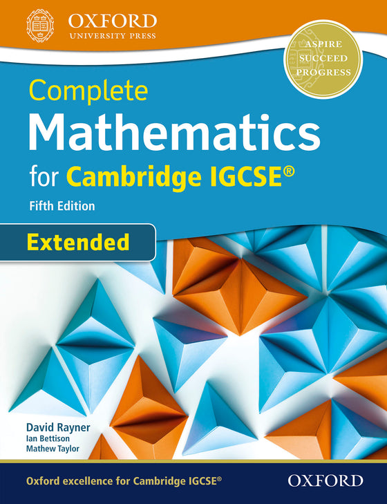 Complete Mathematics for Cambridge IGCSE® Extended