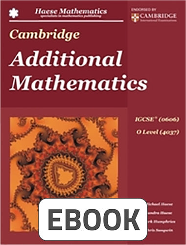 Cambridge Additional Mathematics Digital