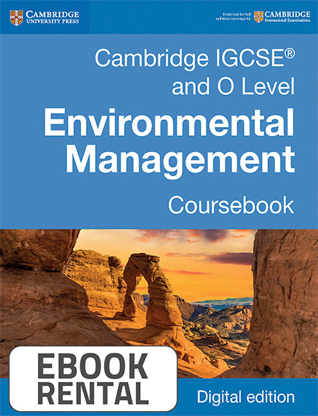 Cambridge IGCSE® and O Level Environmental Management Coursebook