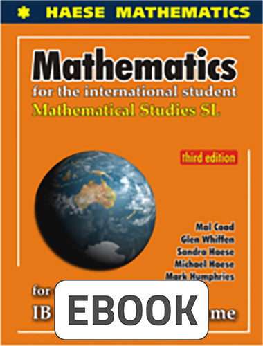 Mathematical Studies SL 3rd ed Digital