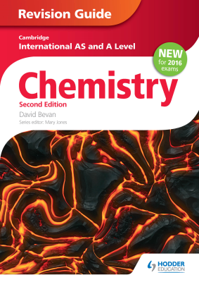 Chemistry Revision Guide for Cambridge International AS and A Level, 2nd Ed. <br> <small><small>by David Bevan</small></small>