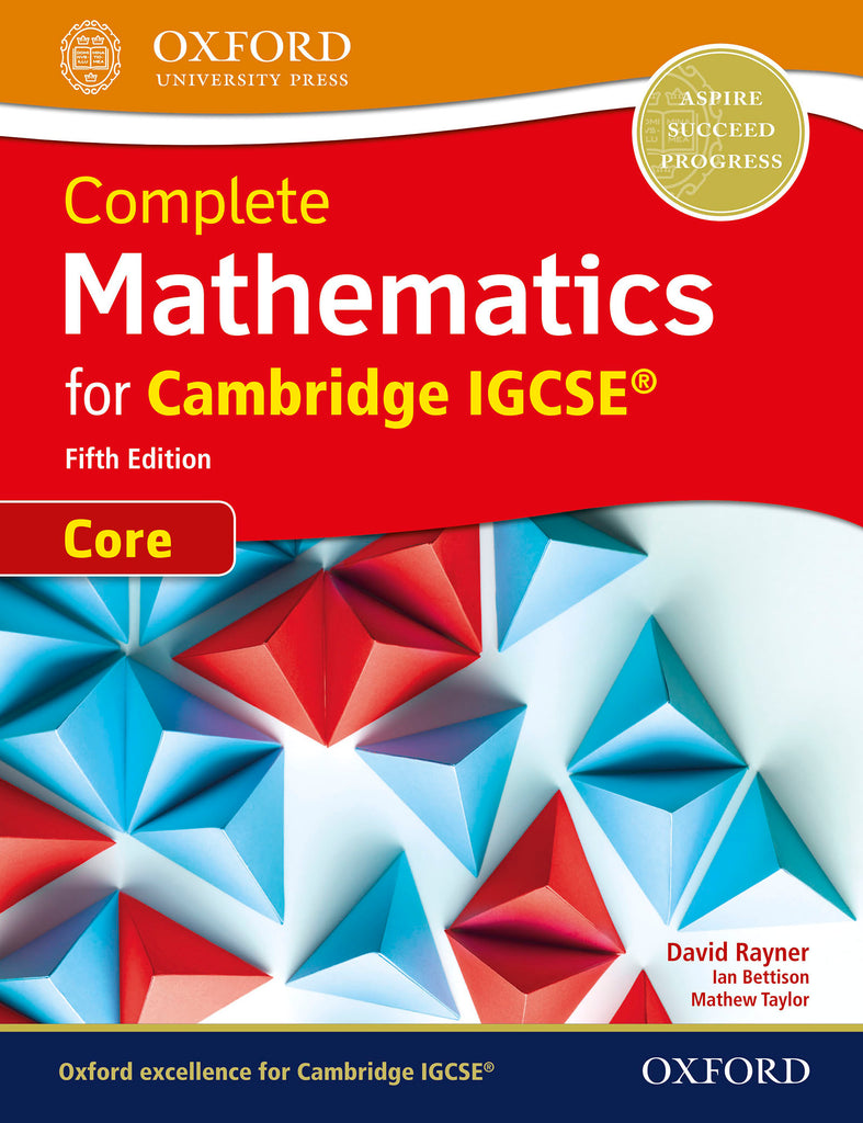 Complete Mathematics for Cambridge IGCSE® Core